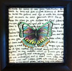 Fly Away Painting by WhiteIsleWhimsy on Etsy, $29.99