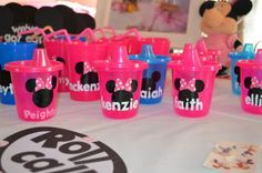 Minnie Mouse 1st Birthday  | CatchMyParty.com