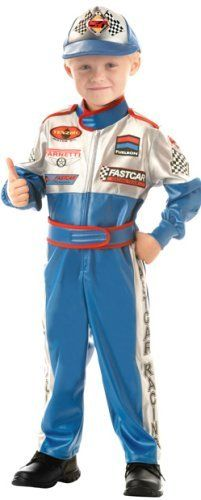 childs toddler speedway race car driver costume 4474