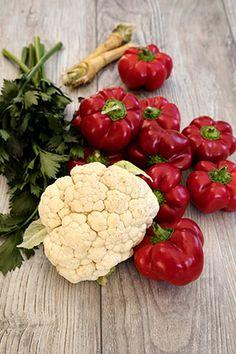 GOGOSARI CU CONOPIDA IN OTET | Diva in bucatarie Yummy Food, Tasty, Cauliflower, Vegetables, Canning, Delicious Food, Cauliflowers, Vegetable Recipes, Cucumber
