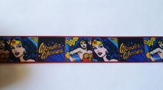 """Wonder Woman Comic Book Super Hero Inspired Printed Grosgrain Ribbon 7/8""""     eBay"""