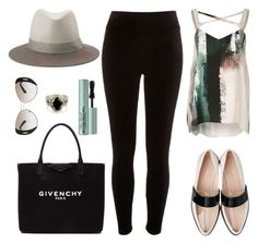 """""""It Struck Me To The Core"""" by seafreak83 ❤ liked on Polyvore featuring River Island, Givenchy, rag & bone, Prada, Too Faced Cosmetics and Tryò"""