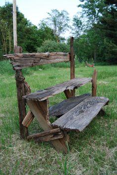 driftwood plant stand @Matthew Arehart