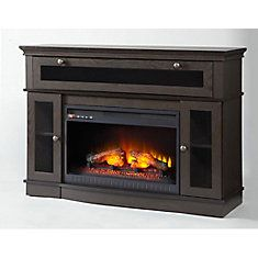 Aimee 46 Inch Media Electric Fireplace