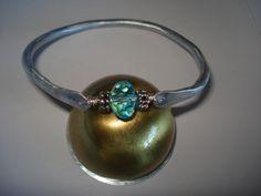 hand hammered bracelet www.planitisgi.gr