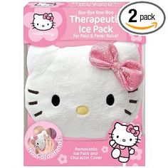 04e63a97f Amazon.com: Cosrich Hello Kitty Bye-Bye Boo-Boo Therapeutic Ice Pack For  Pain & Fever Relief (Pack of 2), Colors may vary: Health & Personal Care