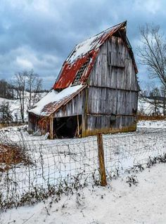 Country Barns tell a story and invade your imagination.