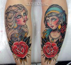 tattoo cigana caveira - Pesquisa Google