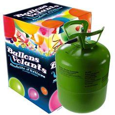P'TIT CLOWN 12439 Bouteille d'Hélium Jetable - 0,25 m3 - 30 Ballons…