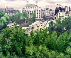 The Pont Neuf and the Samaritaine / Albert Marquet - 1938