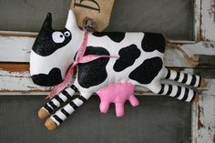 COW Ramona by buttuglee on Etsy
