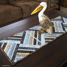 Free Quilt Pattern: Jewel Table Runner