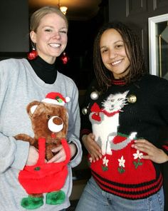 Celebrities and Their Ugly Christmas Sweaters [ | Ugly Xmas ...