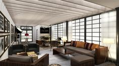 """Architectural Digest just announced that architect and designer David Rockwell will be working with—of all people—actress and beloved ping pong aficionado Susan Sarandon to bring an """"urban loft"""". Architectural Digest, Feng Shui, Home Furniture, Furniture Sets, Urban Loft, Interior Decorating, Interior Design, Room Interior, Green Rooms"""