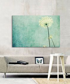 Loving this Lupen Grainne Efflorescence Wrapped Canvas on #zulily! #zulilyfinds