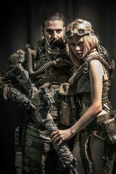 Post-Apocalyptic Fashion : Photo