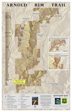 Arnold Rim Trail Map – Arnold Rim Trail