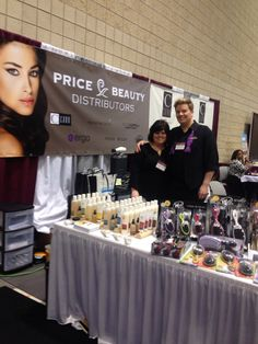 Price Beauty Distributors team  & presenting Previse Skincare & The Wetbrush, #premierebirmingham