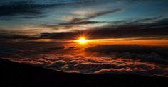 wereld boven wolken Eric Kraus