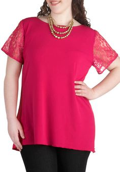 Act Your Agent Top in Plus Size, #ModCloth