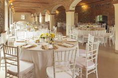 Corte Dei Paduli: Salone Matrimoni. 300 posti a sedere, in tavoli rotondi.