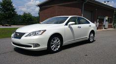 2012 Lexus ES 350 sedan, 34,000 miles. Off-lease unit...