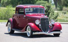 1933 Ford Five-Window Custom Coupe