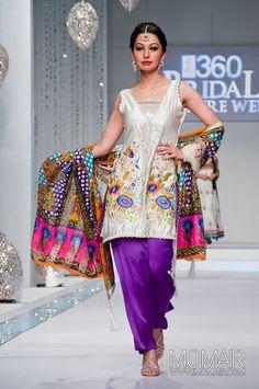 Colourful salwar kameez