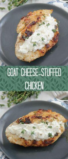 Goat Cheese-Stuffed Chicken