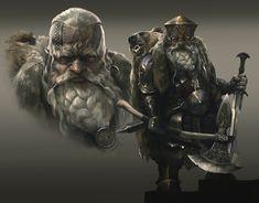 Fantasy Dwarf, Fantasy Rpg, Medieval Fantasy, Fantasy Portraits, Fantasy Artwork, Fantasy Weapons, Fantasy Warrior, Fantasy Character Design, Character Art