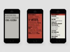 Creative Review - In brackets: Zak Group's identity for Berlin's Biennale
