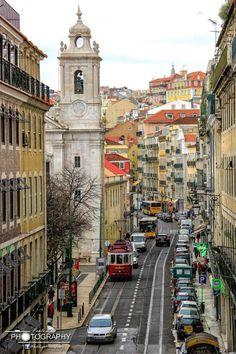 Rua de São Paulo - Lisboa - PauloLuisPhotography