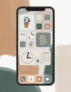 Iphone Home Screen Layout, Iphone App Layout, Iphone App Design, Ios Design, App Icon Design, Iphone Wallpaper App, Iphone Background Wallpaper, Phone Themes, App Covers
