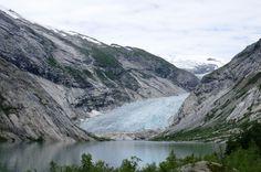 mooi plaatje van de noorse gletcher Iets voor de zomer ?