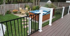 wrod irion deck rail | ... spotlight excalibur is the new line of iron railings from the rdi