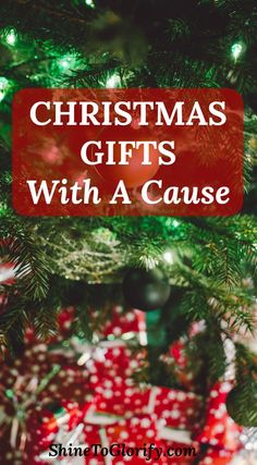 Find a perfect and unique gift that can change lives while bringing joy to your loved ones!