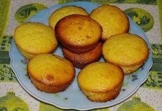 Krémes citromos muffin