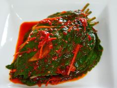 깻잎김치~~향긋한 맛에 젓가락이 절로가요 !!! – 레시피 | Daum 요리 Korean Side Dishes, Look And Cook, K Food, Asian Recipes, Ethnic Recipes, Vegetable Seasoning, Kimchi, Korean Food, Seaweed Salad