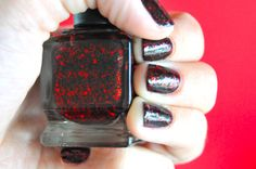 OPI Lincoln Park After Dark + Deborah Lippman Ruby Red Slippers = Poison Apple. Doing this tonight! Found a great deal on Lippman polish today! Lalalala! :)