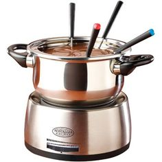 Nostalgia Electrics Stainless Steel Electric Fondue Pot $24.99