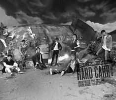 """GOT7 Drops Second Batch Of Image Teasers For Comeback With """"Hard Carry"""" 