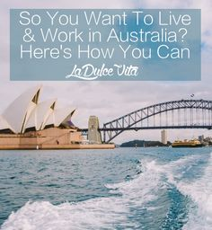 My cousin, Dulce, has traveled, (with her ridiculously beautiful, curly hair) worked, and lived in various parts of the world..and she lived to blog about it. --- So You Want To Live & Work In Australia? Here's How You Can | LA DULCE VITA.