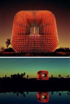 Light cube pavilion. Sitooterie II by Heatherwick Studio.
