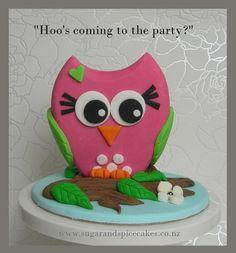 pink & green owl cke