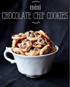 Cheat day 1: mini chocolate chip cookie bij de koffie