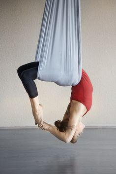 Aerial Yoga in Miraval's newly renovated yoga studio http://healinghotelsoftheworld.com/hotels/miraval-spa-resort-arizona/