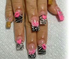 Nail art | See more nail designs at http://www.nailsss.com/nail-styles-2014/