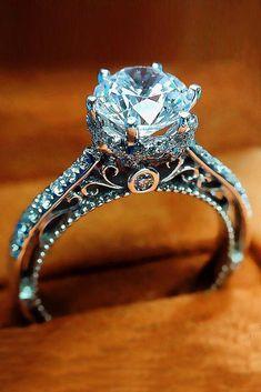 Gorgeous vintage engagement rings:) #vintageengagementrings