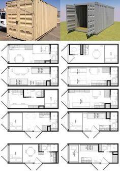 Resultado de imagen para plantas casa de container