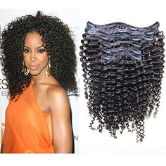 How to install natural hair clip ins on a short tapered cut kinky curly clip in extensions brazilian virgin human hair natural hair full set with clips natural pmusecretfo Image collections